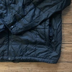 The North Face Jackets & Coats - Black Multi Pocket Thin Light Weight Puffer Coat